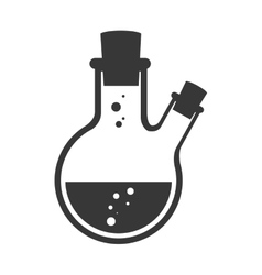 Flask bottle chemical vector