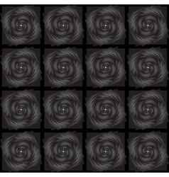 Design seamless black decorative pattern vector image