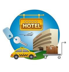 Hotel service icon vector