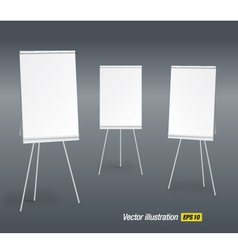paperboards vector image