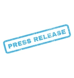 Press release rubber stamp vector
