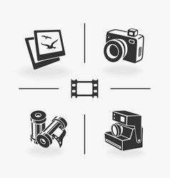 set of elements photo vector image