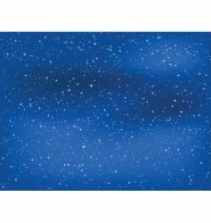starry night sky vector image vector image