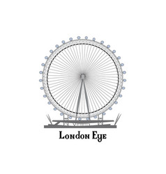 travel london city famous place english landmark vector image