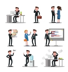 Office people collection vector