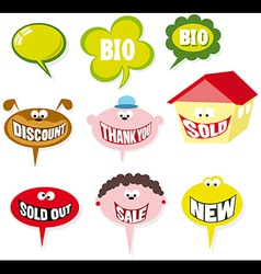 Bubbles speech vector