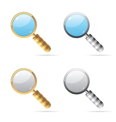Icons for lens vector image