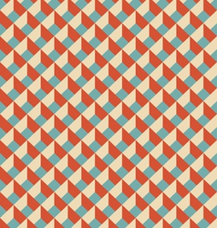 Mosaic seamless pattern in retro style vector