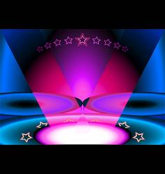 club scene vector image