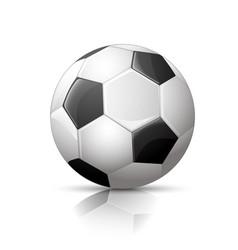 Soccer ball football icon vector image