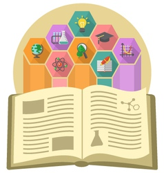 Book as a source of knowledge vector