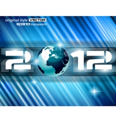 high tech new year vector image vector image