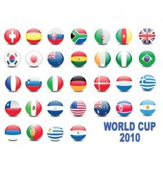 world cup balls vector image