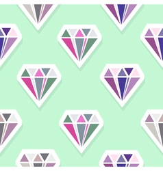 Diamonds abstract seamless pattern vector