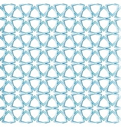 moroccan grid ornament seamless vector image vector image