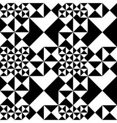 Trigon seamless vector image vector image