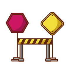 Traffic signal with fence vector