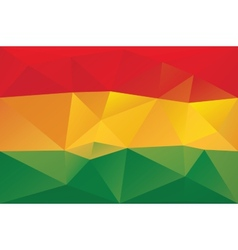 Bolivian flag vector image