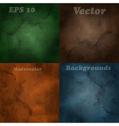 4 blurred backgrounds vector