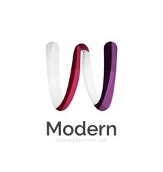 Ribbon logo vector