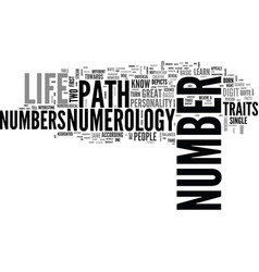 A very simple guide to learn numerology text word vector