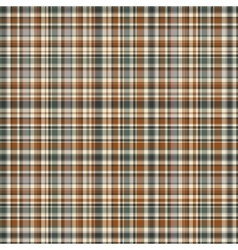 Checkered fabric tartan textile vintage vector image