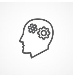 Knowledge icon vector image vector image