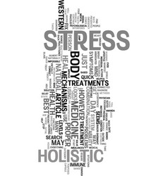 Your stress levels text word cloud concept vector