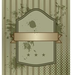 Vintage banner vector