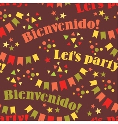 Latin American holiday the June party of Brazil vector image