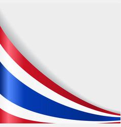 Thai flag background vector