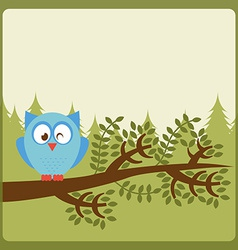 Owl nature vector
