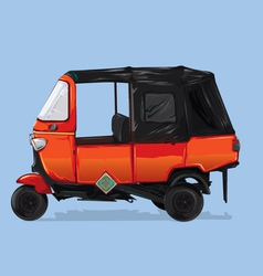 Scooter car vector
