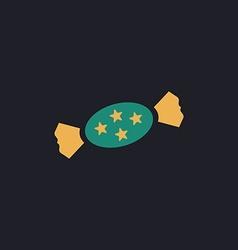 bonbon computer symbol vector image vector image