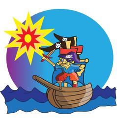 Little pirate vector