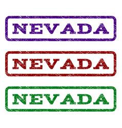 nevada watermark stamp vector image vector image