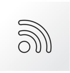 Wireless connection icon symbol premium quality vector