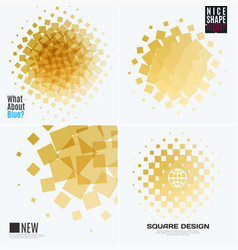 Abstract design elements for graphic layout vector