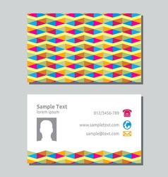 Businessman card4 resize vector image vector image