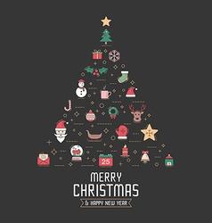 Christmas 08 05 vector image