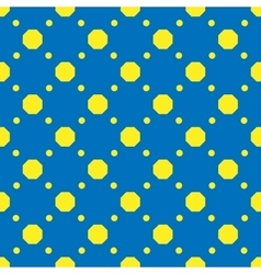 Polka dot geometric seamless pattern 6707 vector