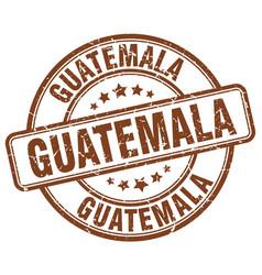 Guatemala stamp vector