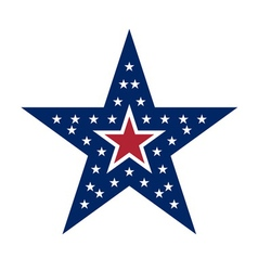 American star sign vector