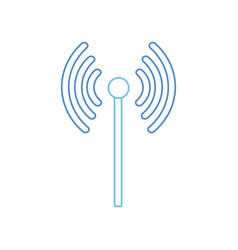Isolated wifi design vector
