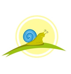 Little Snail vector image