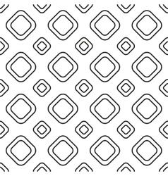 Square tiles seamless pattern vector image vector image