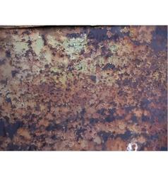 texture of rusty metal vector image