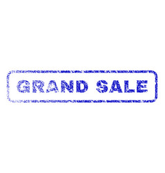 grand sale rubber stamp vector image