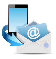 Envelope mail vector