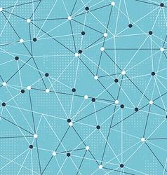 Tech triangle seamless pattern vector